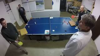 Extreme Ping Pong with great shots