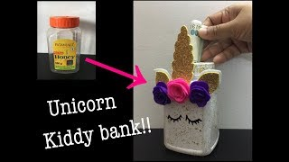 DIY Unicorn Kiddy Bank | Summer activities for kids | Best out of waste  Art and craft