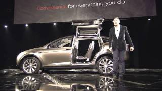 Tesla Model X official reveal