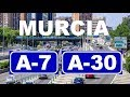 MURCIA CITY ( A-7 / A-30 ) ACCESS ROAD AND PARTIAL BELTWAY - ACCESOS Y CIRCUNVALACIÓN DE MURCIA