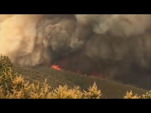 California Wildfire Fills Yosemite With Smoke