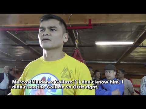 Chino Maidana on Amir Khan vs. Luis Collazo