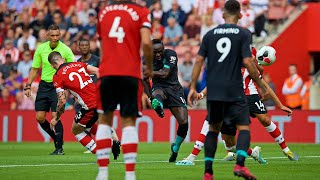 Southampton vs Liverpool | Mane's unstoppable strike into top corner