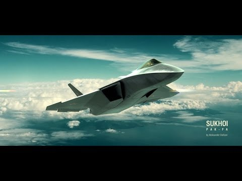 Sukhoi T 50 PAK FA Stealth Technology Music Videos