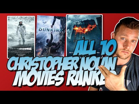 All 10 Christopher Nolan Movies Ranked From Worst To Best (w/ Dunkirk Movie Review)