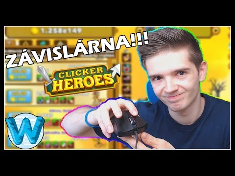 NEJVÍCE NÁVYKOVÁ HRA! - Clicker Heroes