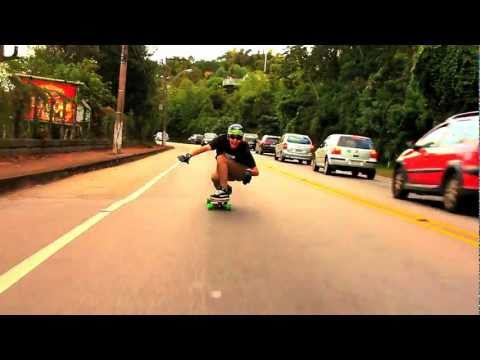 Fernando Yuppie Longboard For Fun Drop Morro da Lagoa 2011