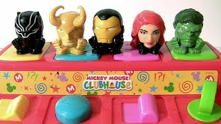 Avengers Mashems Series 4 Pop Up Disney Toys Baby Mickey Mouse Clubhouse by funtoys