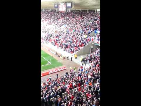 Sunderland vs Everton after the match