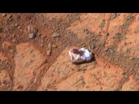 Mystery of Mars 'doughnut rock' solved?
