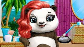 Animal Hair Salon 2 - Fun Baby & Mommy Panda Hairstyles, Fashion Adventures Games for Toddlers