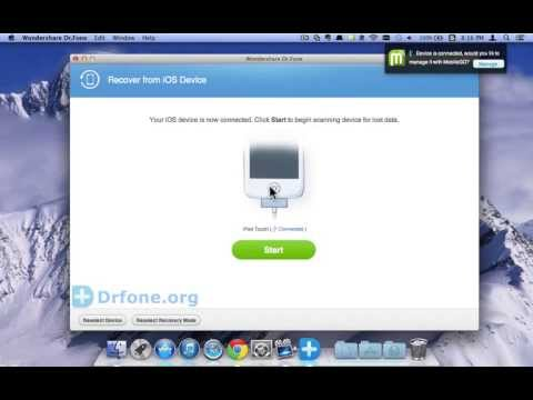 iPod Touch 5 Recovery [Contacts Recovery]:How to Retrieve Contacts from iPod Touch 5 directly(Mac)