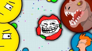 TROLLING PEOPLE IN AGARIO 2 (FUNNY MOMENTS) | AGAR.IO | АГАРИО