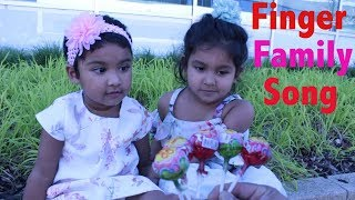 Funny Kids Learn Finger Family Song For Children, Baby, Kids | Alice & Ishfi Play Together