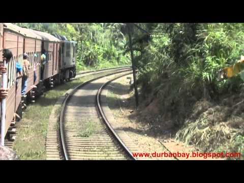 Colombo to Kandy Train Ride, Sri Lanka, 2012