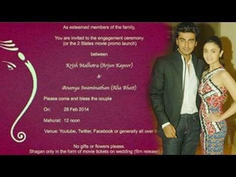 Alia Bhatt & Arjun Kapoor GETTING ENGAGED - SHOCKING NEWS !!