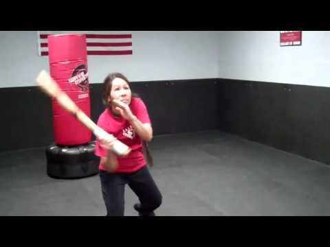 Carrenza with 2 Inch Diameter Sticks @ Rockford Martial Arts
