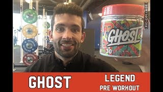 Ghost Pre Workout - What's Ghost? What's The Hype? Does it work? - Workout and Thoughts