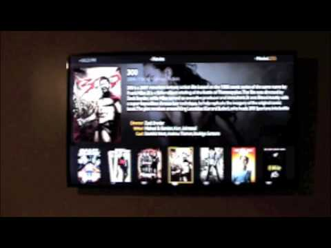 Streaming movies wirelessly using Plex app on  wifi enabled samsung 55