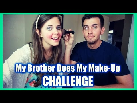 My Brother Does My Make-Up | Tiffany ❤