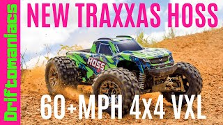 NEW Traxxas HOSS 4x4 VXL First Look! #MUSTSEE