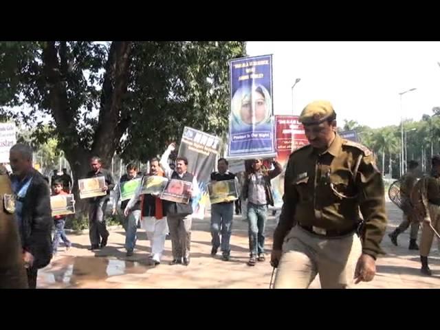HRDI demonstration in support of Rinkle Kumari of Pakistan Part-7