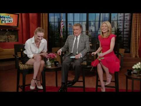 Diane Kruger on Regis and Kelly - 02/14/2011