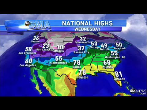 'GMA' Weather Guru Sam Champion's Final Weather Chat   American News