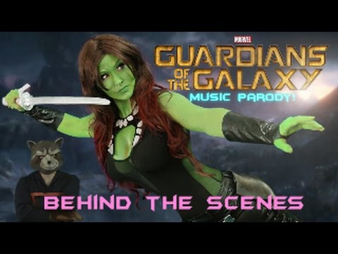 Guardians of the Galaxy Parody - Behind the Scenes and Outtakes!