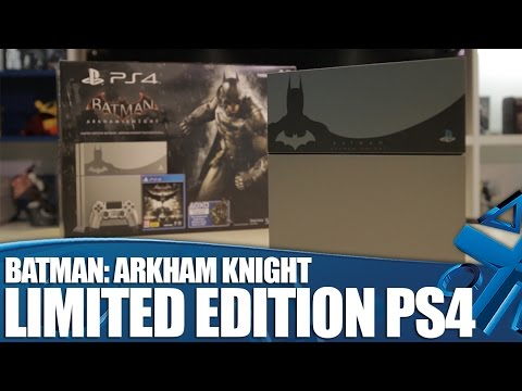 Batman Arkham Knight - Limited Edition PS4 Unboxing