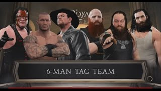 WWE 2K17-Randy Orton & Kane & Undertaker vs The Wyatt Family -6 Man Tag Team Match(PS4)