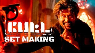 PETTA SET MAKING – Art Director Suresh Selvarajan