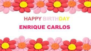Enrique Carlos   Birthday Postcards & Postales - Happy Birthday