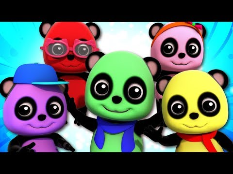 Five Little Pandas | Baby Bao Panda | Songs For Children