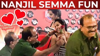 VIDEO: Nanjil Sampath Proposes Priya Anand