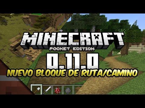 Noticias Minecraft PE 0.11 | Nuevo Bloque de Camino/Ruta | Jeb & Tommaso Checchi