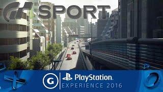 Gran Turismo Sport - PSX 2016 Trailer