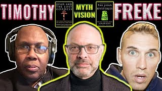 Video: The Jesus Story is more Pagan-God, than Historical Truth - Timothy Freke (MythVision) 1/2
