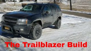 Lifted Chevy Trailblazer build Part 1