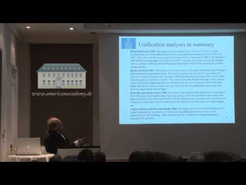 Adam Posen - Exorcising Ghosts of Inflation and Unification from German Economic Policy