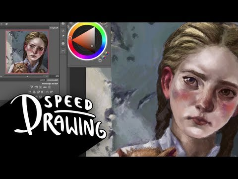 Speed Drawing: The Hunger Games: Catching Fire  - Primrose Everdeen HD