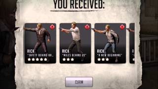Walking Dead : Road to Survival - EPIC 5 STAR Rick Grimes Pulled!