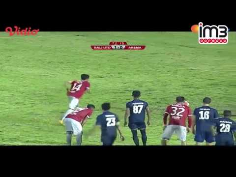 Bali United vs Arema Cronus [2-2] Highlights TSC 3 Desember 2016
