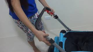 IRDY Stroller code S0829A - How to reverse handle
