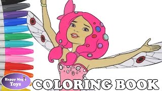 Mia and Me coloring book Mia & Me coloring page speed coloring Happy Magic Toys