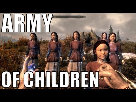 "Skyrim - Army of Children ""Viking Commentary"""