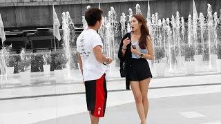 ASKING 100 THAI GIRLS TO HAVE SEX หนุ่มฝรั่ง ถามสาวไทยกว่า 100 คน ว่า ขอมีเซ็ก