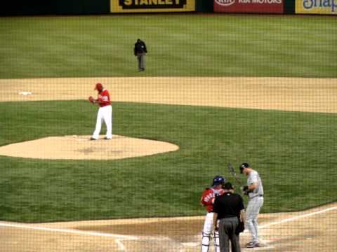 Neftali Feliz Earns Save vs Seattle Mariners - Texas Rangers Win 4-5-2011