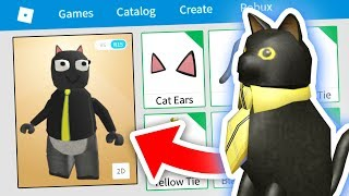 MAKING SIR MEOWS A LOT A ROBLOX ACCOUNT!