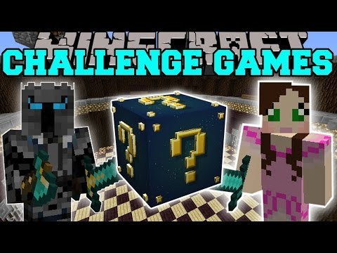 Minecraft: ASTRAL SUPER LUCKY CHALLENGE GAMES - Lucky Block Mod - Modded Mini-Game